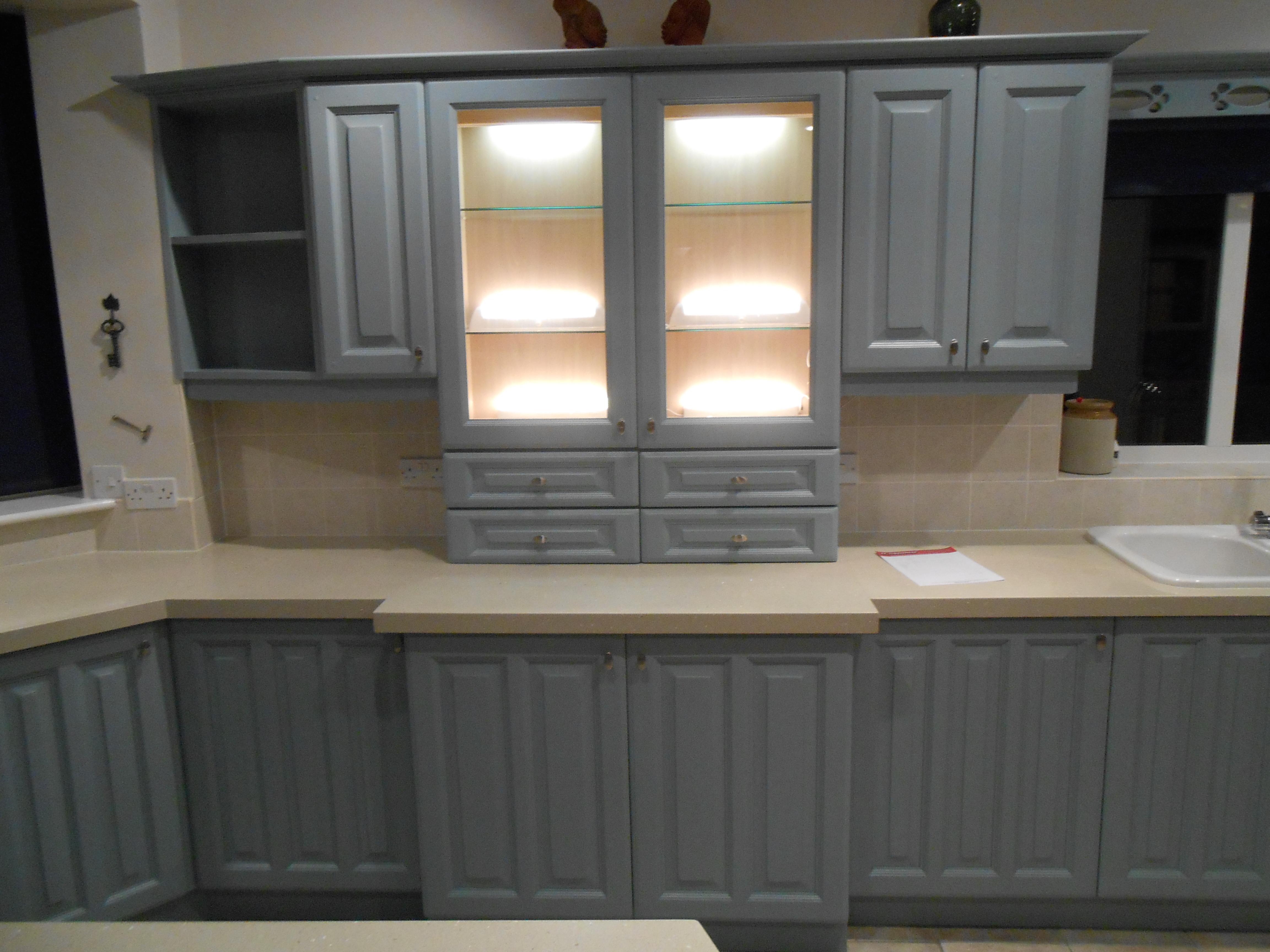 Update kitchen matt finish manchester - Kitchen display cabinets ...